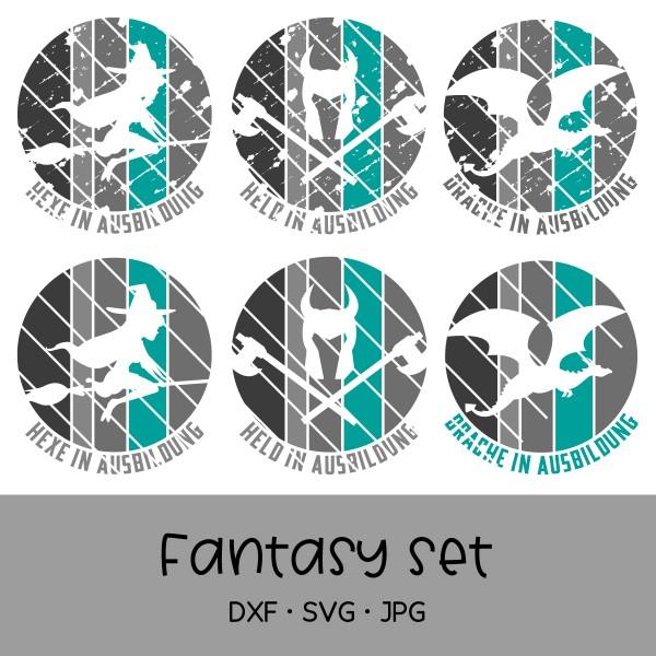"""Plotterdatei Set """"Fantasy Stripes"""" - perfekt geeignet für Teststreifen"""