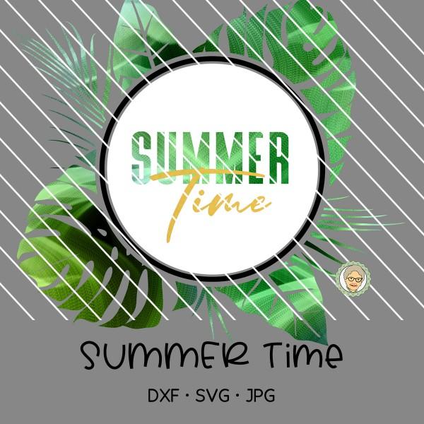 Plotterdatei Summer Time