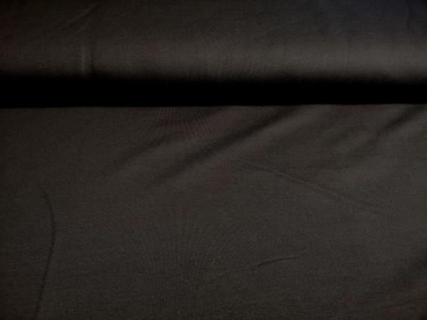 0,5m Sommersweat / French Terry schwarz, 95% Baumwolle, 5% Elasthan