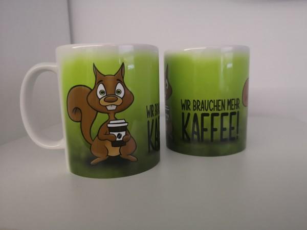 """Tasse """"Kaffeehörnchen"""""""