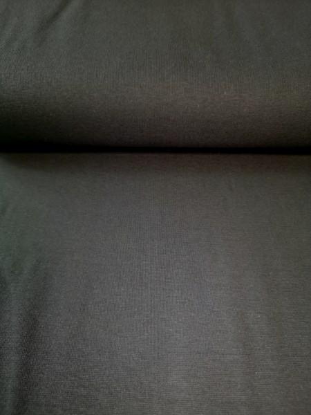 0,5m Bündchen / Strickschlauch Anthrazit/dunkelgrau, 95% Baumwolle, 5% Elasthan