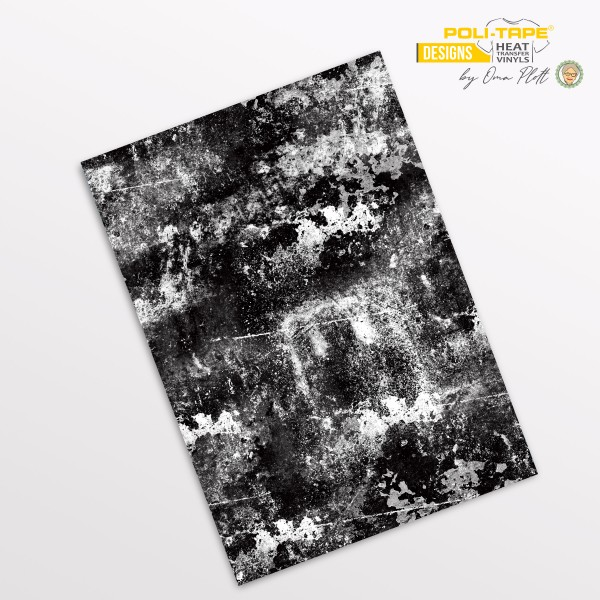 Flexfolie DIN A4 Grunge - POLI-FLEX® Designs by Oma Plott