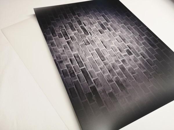 Flexfolie DIN A4 Mauerdesign inkl. Übertragungsfolie