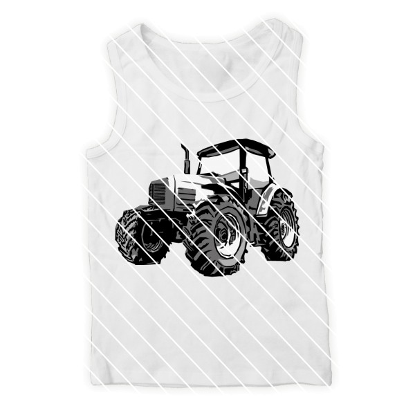 Schneidedatei Traktor SVG DXF