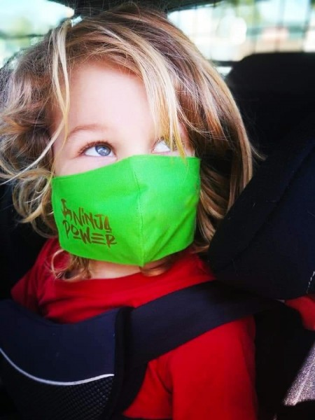 Plotterdatei Ninja Power - mit und ohne used Look