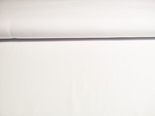 0,5m Jersey weiß, 95% Baumwolle, 5% Elasthan