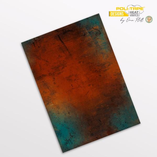 Flexfolie DIN A4 Rost - POLI-FLEX® Designs by Oma Plott