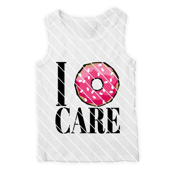 Plotterdatei Donut SVG DXF I don't care