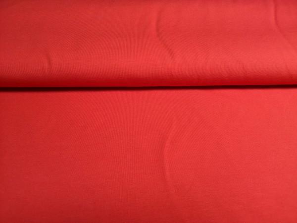 0,5m Jersey rot, 95% Baumwolle, 5% Elasthan