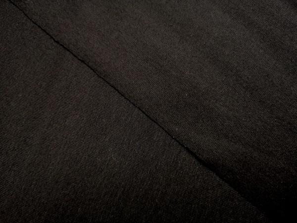 0,5m Jersey schwarz, 95% Baumwolle, 5% Elasthan