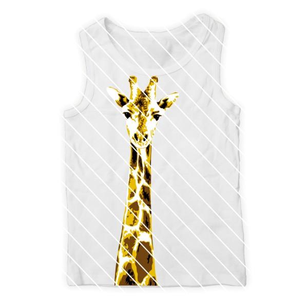 Plotterdatei Giraffe von Oma Plott - Schneidedatei Giraffenkopf