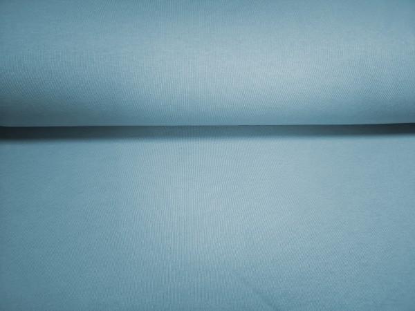 0,5m Sweat hellblau, 65% Baumwolle, 35% Polyester