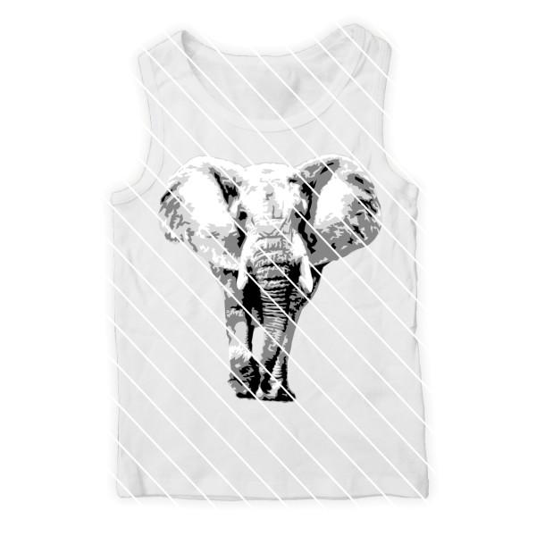 Schneidedatei Elefant