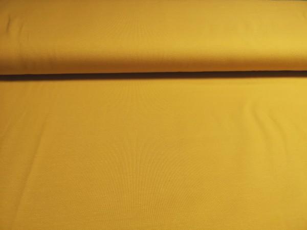 0,5m Jersey Senfgelb, 95% Baumwolle, 5% Elasthan
