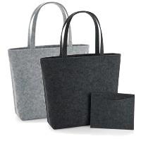 große Einkaufstasche mit herausnehmbarer Innentasche - Shopper aus Filz
