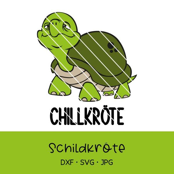 Plotterdatei lustige Schildkröte mit verschiedenen Texten